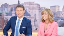 Kate Garraway criticised for 'laughing and joking' on 'GMB' while husband remains in hospital