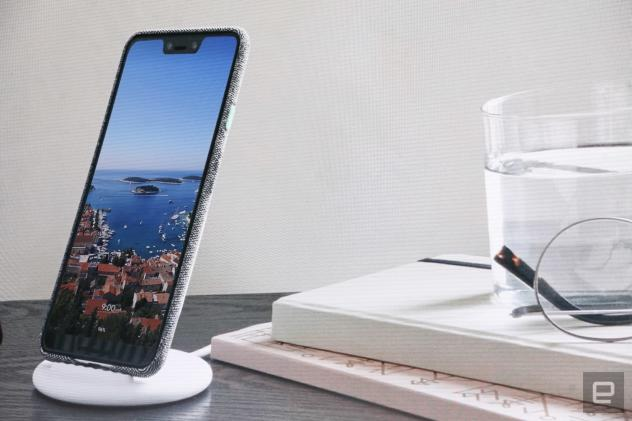 Google's Pixel Stand is a wireless charger that doubles as a dock