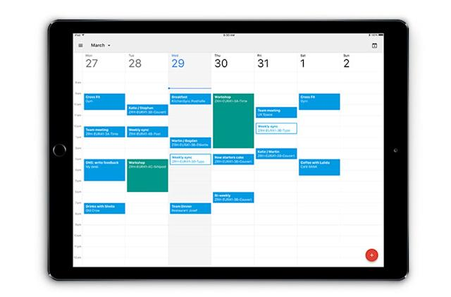 Google's official calendar app is finally ready for your iPad