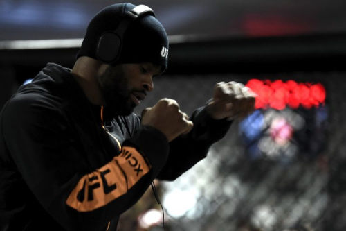 Tyron Woodley fights Demian Maia on Saturday. (Getty)