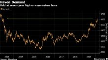 Oro cotiza cerca de máximo de 7 años por temor sobre crecimiento