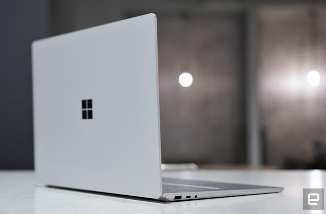 Microsoft is reportedly working on a midrange Surface laptop