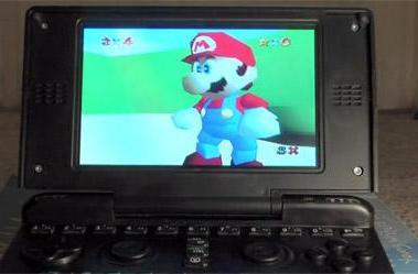 Near-final Pandora handheld gets user reviewed, shown playing Super Mario 64