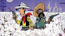 """""""Un cowboy dans le coton"""": Lucky Luke affronte le Ku Klux Klan dans sa nouvelle aventure"""