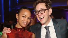 Zoe Saldana Reacts to James Gunn Being Reinstated as 'Guardians of the Galaxy Vol. 3' Director (Exclusive)