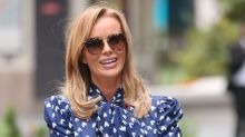 Amanda Holden says she cried seeing her friends for the first time
