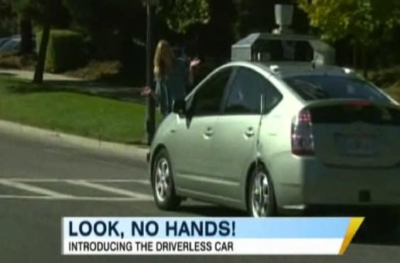 Google's driverless car drives interest in driverless cars (video)