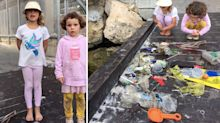 'We don't want them to die': Six-year-old girl's impassioned plea after 'sad' discovery in harbour