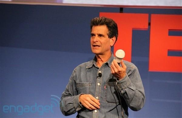 Dean Kamen unveils revamped bionic arm and water machine, LED light bulb powered by Cree