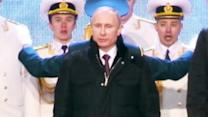 Putin's Russia Celebrates Taking Crimea