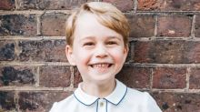 Prince George's fifth birthday portrait is his best yet