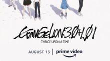 Filme de anime japonês recorde de bilheteria EVANGELION:3.0+1.01 THRICE UPON A TIME será lançado exclusivamente na Amazon Prime Video em 13 de agosto