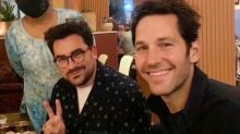 Paul Rudd, 52, and Dan Levy, 37, photo stuns fans: 'Ageing backwards'
