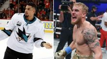 Evander Kane really wants to fight Jake or Logan Paul
