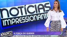 Silvio Santos brinca de TV durante dia de baixa na audiência do SBT