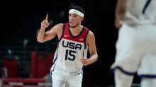 Suns' Devin Booker, Bucks' Khris Middleton, Jrue Holiday 'bonding' as Team USA pursues gold