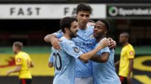 Watford's survival hopes hit as Raheem Sterling sparks Manchester City rout