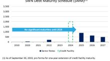 Southwestern Energy Further Strengthens Financial Resiliency