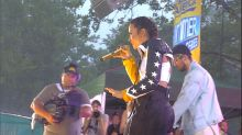 Demi Lovato and Cheat Codes perform their hit song 'No Promises' live on 'GMA'
