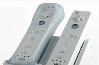 New charger sends power to batteries through Wii Remote jackets