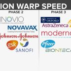 Out of 8 companies, just 3 vaccines are in final stage of trials