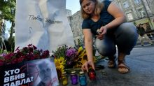 Ukrainians demand fair probe into slain journalist four years on
