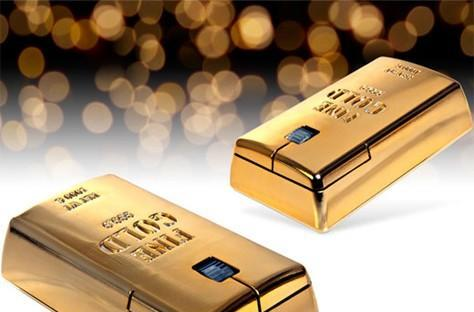 Gold Bullion Wireless Mouse only looks like a million bucks