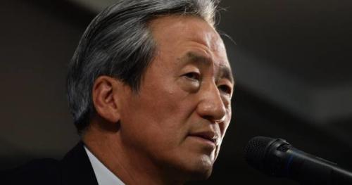 Foot - Fifa - Fifa : le Sud-Coréen Chung Mong-joon devant le Tas