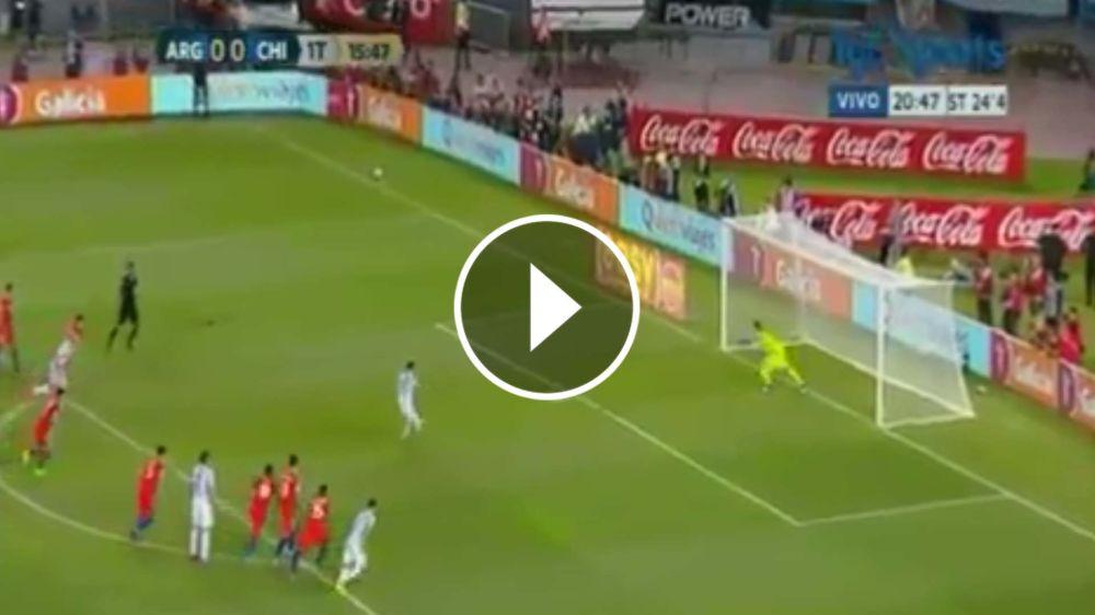 VIDEO: Messi metió el primero, de penal, y estalló el Monumental