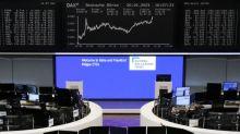 European stocks sapped by weak economic data, travel curbs