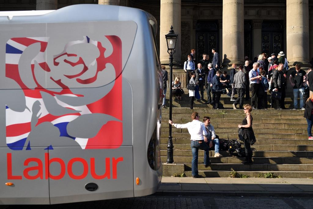 Britain's opposition Labour party suspended three councillors on May 2, 2016, over comments about Israel posted on social media, as a row over anti-Semitism rocks the party