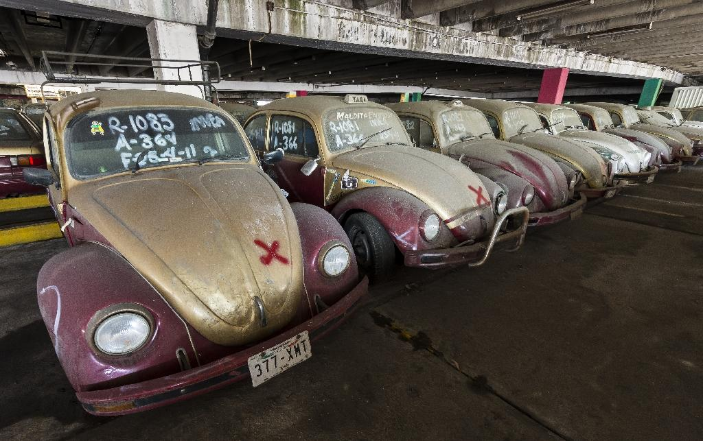 In Mexico City, once beloved VW Beetle is nearly extinct