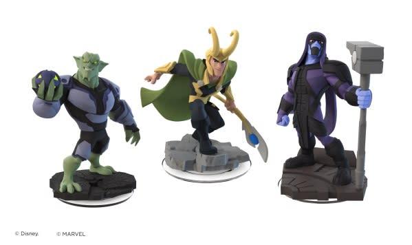 Loki, Green Goblin are Disney Infinity 2.0 Marvel super villains