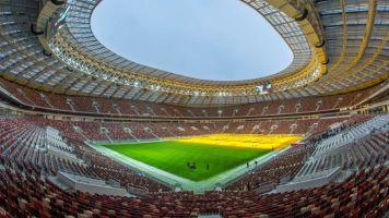 WM 2018 in Russland: Die Stadien (zusammengestellt vom SID)