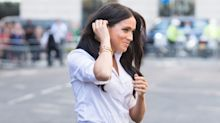 Meghan Markle returns from maternity leave to launch clothing line — and one dress is only $45