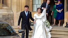 Guests recovering from Princess Eugenie's Royal Wedding reception as gift bags are already being auctioned off