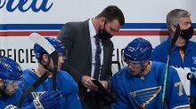 The Arizona Coyotes will be interviewing Blues assistant coach Mike Van Ryn