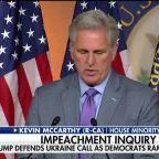 Washington awaits Day 2 of public impeachment hearings