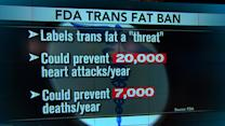 FDA bans heart-clogging trans fats