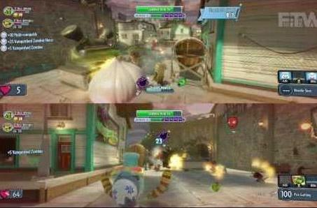Plants vs. Zombies: Garden Warfare split-screen mode exclusive to Xbox One
