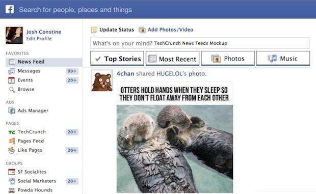 Facebook reportedly launching new 'content-specific' news feeds