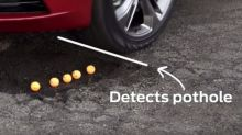 Ford Developing a Warning System to Reduce Pothole Damages in Cars