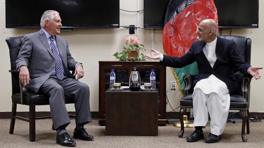 Tillerson's Afghanistan trip kept under wraps