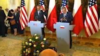 Obama pledges support for eastern European allies