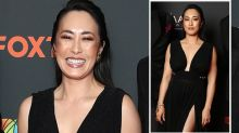MasterChef's Melissa Leong stuns in thigh-high AACTAs gown