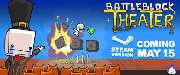 Battleblock Theater brings perilous platforming to Steam soon