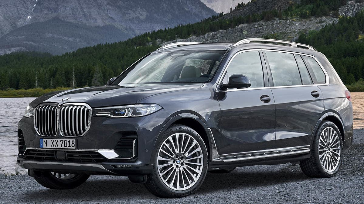 all new 2019 bmw x7 is the automaker 39 s largest suv ever. Black Bedroom Furniture Sets. Home Design Ideas