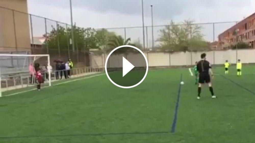 VÍDEO: Lección de fair play en un partido de benjamínes
