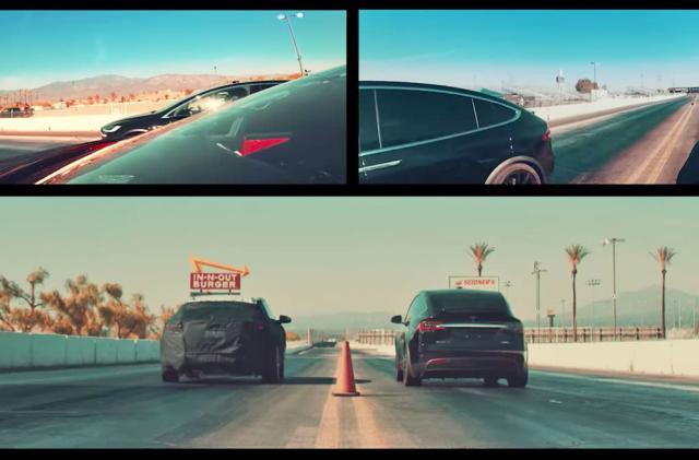 Watch Faraday Future's prototype race Bentley, Ferrari and Tesla