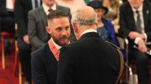 CBE honour for Hollywood hardman Tom Hardy